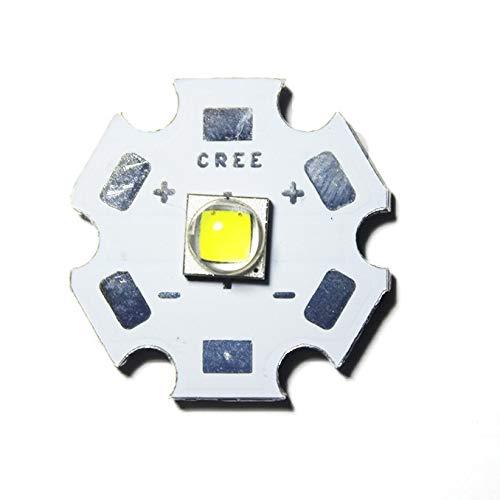 10W CREE Single XML LED T6 High Power LEDs weißer Chip mit 20 mm PCB für DIY Coolwhite