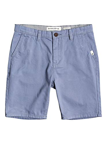 Quiksilver Jungen Everyday-Chino-Shorts 8-16 Walk, Stone wash, 28/14