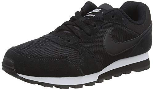 Nike Damen WMNS Md Runner 2 Hallenschuhe, Schwarz (Schwarz/Weiß), 40.5 EU