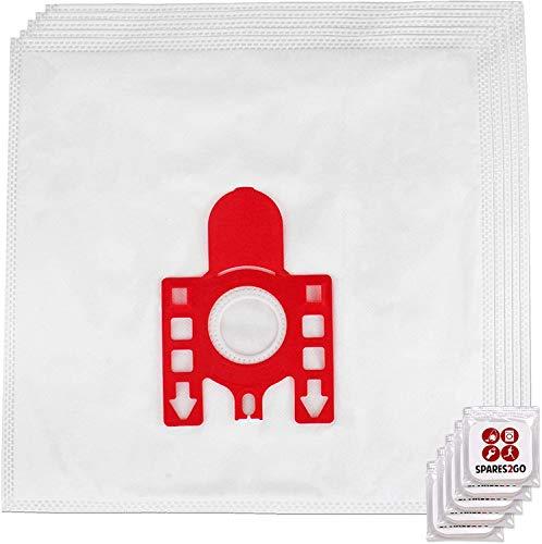 Spares2go FJM Hyclean Staubsaugerbeutel, kompatibel mit Miele S200-299 S241 256i S290 Staubsauger (5 Beutel + Lufterfrischer)