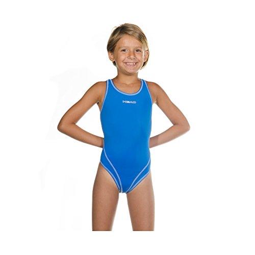 Head SWS Wire PBT Mädchen Badeanzug , Blau (Azul claro (LB), 152 (Herstellergröße: 12)