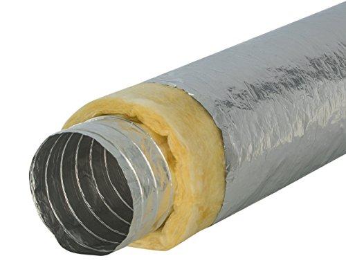 Intelmann Alu-Flexschlauch Ø 125 mm thermisch isoliert, Länge 10m (80 100 125 150 160 200 250)