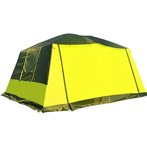 LULUVicky Camping-Zelt Out Door Camping mit erweiterbarer Tragetasche und Zelt Festival-Zelt (Color : Blue, Size : One Size)