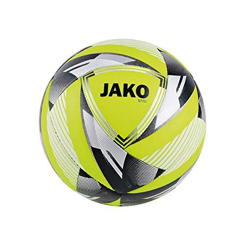JAKO Unisex– Erwachsene Neon Miniball, Gelb, 1