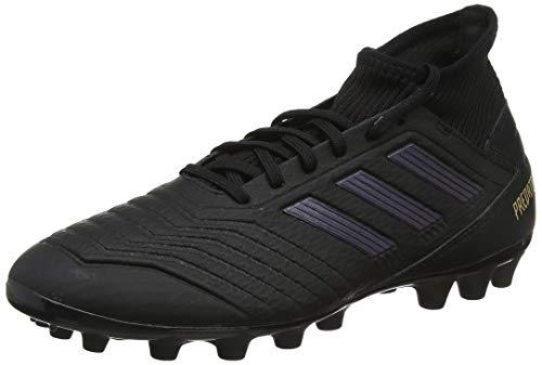 adidas Herren Predator 19.3 AG Fußballschuhe, Schwarz (Core Black/Core Black/Gold Metallic 0), 44 EU