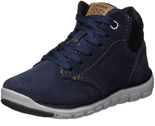 Geox Jungen J XUNDAY BOY A Chukka Boots, Blau (Navy/Black C0045), 35 EU