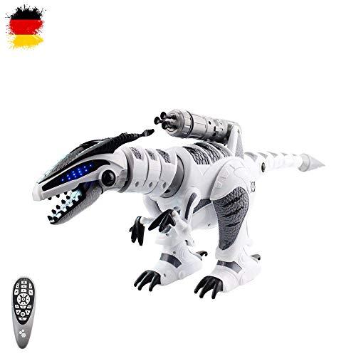 HSP Himoto XXL RC Ferngesteuerter Dinosaurier T-Rex Roboter, realistische Bewegungen, programmierbar, Kampffunktion und mit vielen Besonderheiten wie Musik, Tanz- und Schussfunktion, Neu OVP