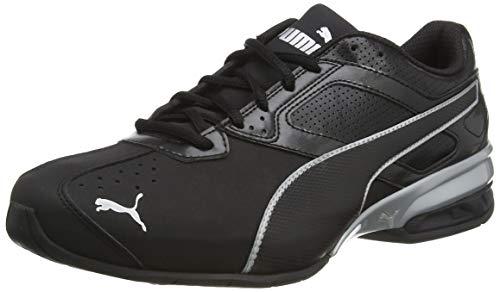 Puma Herren Tazon 6 FM Sneaker, Schwarz Black Silver, 43 EU