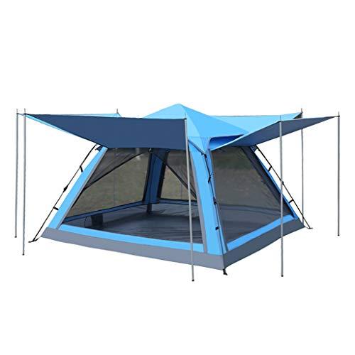 Zelt Freien Faltzelt Großer Raum Automatische Größe (215 * 215 * 145) Blau