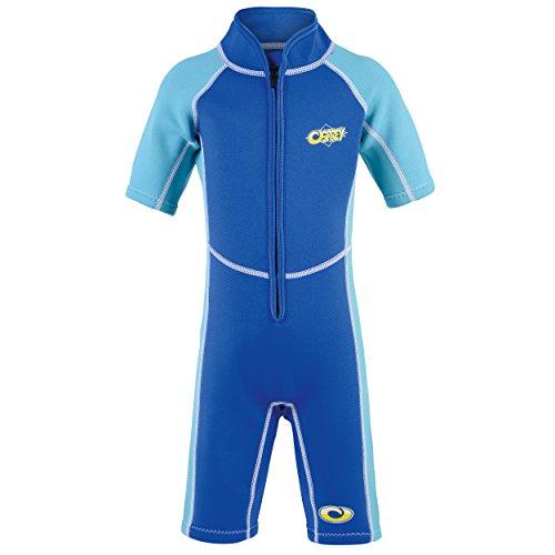 Osprey Neoprenanzug für Kleinkinder, 3 mm stark, Lichtschutzfaktor 50 erhältlich, Jungen, WS0190, Octopus - Blue, Alter 1