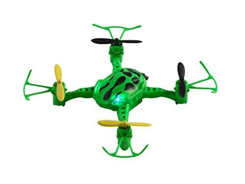 Revell Control RC Quadrocopter für Einsteiger im coolen Design, ferngesteuert mit IR Fernsteuerung, leicht zu fliegen durch 6-Axis-Stabilisierungssystem, mit Propellerschutz, Indoor - FROXXIC 23884