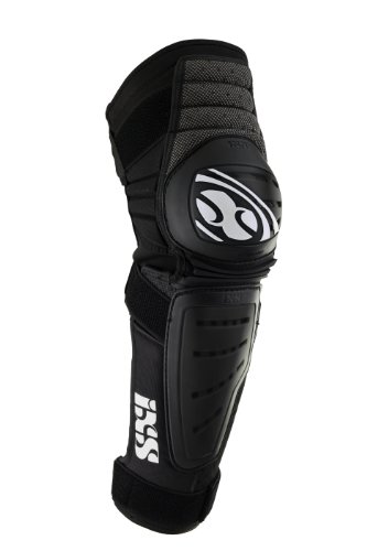 IXS Erwachsene Knee/Shin Guard Cleaver, schwarz, L