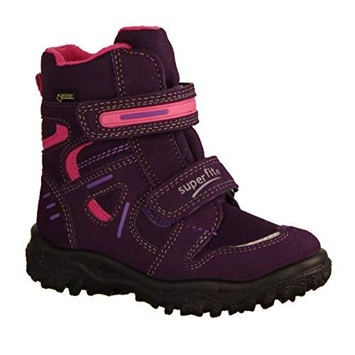 Superfit Kinder Klettstiefel Mädchen Klett Boots Gore 3-09080-90 lila 538444