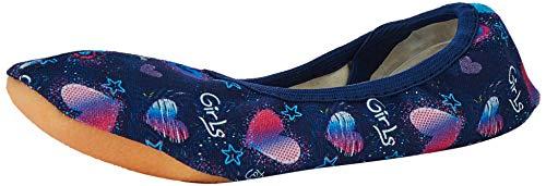 Beck Mädchen Girls Gymnastikschuhe, Blau (Dunkelblau 05), 26 EU