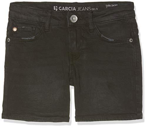 Garcia Kids Mädchen Sara Shorts, Schwarz (Dark Used 3022), 176