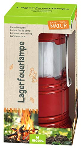 moses. Unisex Jugend Expedition Natur Lagerfeuerlampe Lampe, Rot, klein