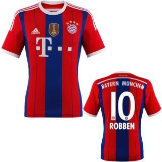 FC Bayern Robben Trikot Home 2015 WC, S