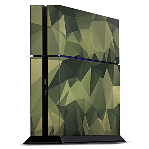 DeinDesign Skin kompatibel mit Sony Playstation 4 PS4 Folie Sticker Camouflage Tarnmuster Bundeswehr