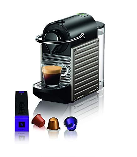 Krups XN304T Kaffeemaschine Freistehende Espressomaschine Titan 0,7 L 1 Tassen