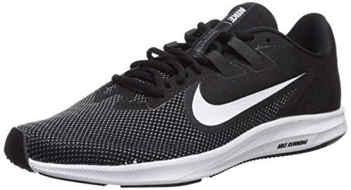 Nike Damen WMNS Downshifter 9 Laufschuhe, Schwarz (Black/White-Anthracite-Cool Grey 001), 40.5 EU