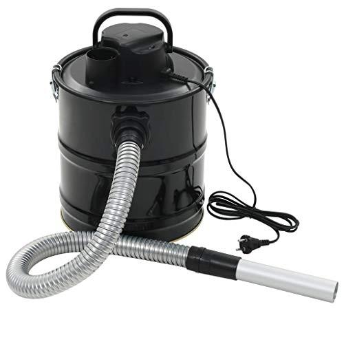 vidaXL Aschesauger HEPA Filter 1000 W 20 L Kaminsauger Staubsauger Grillsauger
