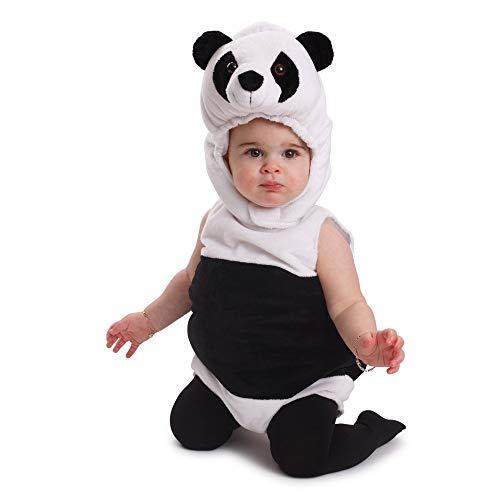 Dress Up America Kuscheliges Baby-Pandabär-Outfit Halloween-Kostüm - Größe 6-12 Monate