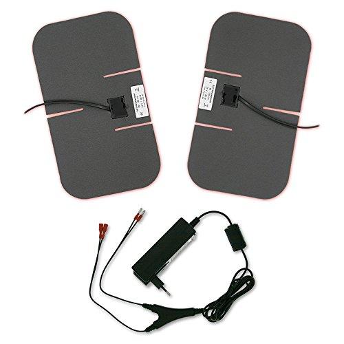 Heizelemente-Set für SAT-Antennen, SAT-Schüssel Heizung, 24V / 30W, 162 x 282 mm