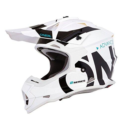2SRS Helmet SLICK white/black M (57/58cm)