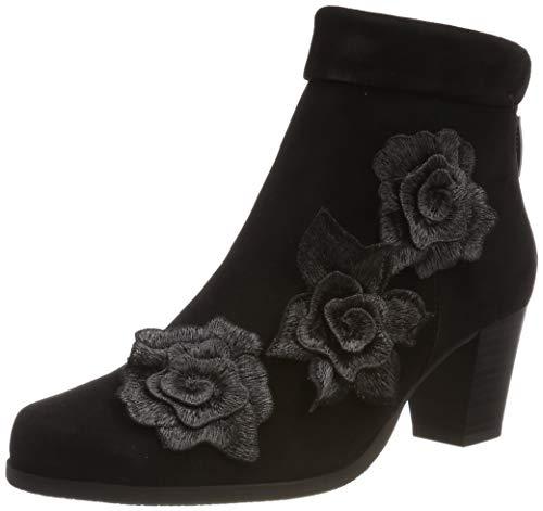 Gerry Weber Shoes Damen Louanne 06 Stiefeletten, Schwarz (Schwarz 100), 37 EU