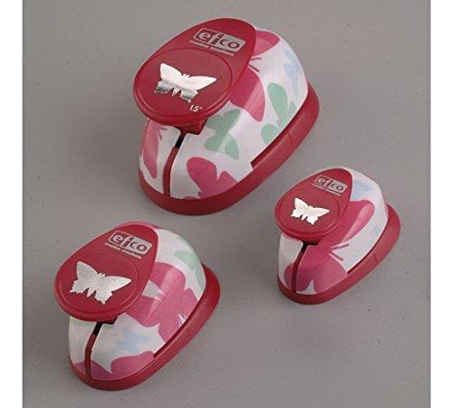 efco Design-Set Stanzform mit Schemtterlingsmotiv, Pink