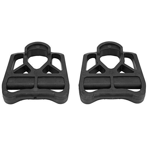 Nikou 2 Stück Rennrad-Pedaladapter, Pedal Converter Fahrradplattform-Adapter Konvertieren Sie Fahrradzubehör für die Look KEO-Serie