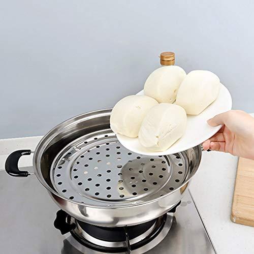 01 Dampfregal, bequem zu verwenden Dampfhalter, Dampfwanne, ungiftige und dauerhafte Rückhaltevorrichtung für Küchenkantine für zu(Small Diameter 20cm)
