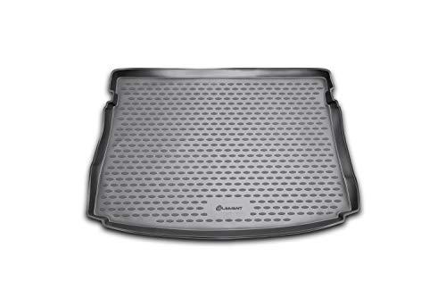 Element EXP.NLC.51.44.B11 Passgenaue Premium Antirutsch Laderaumwanne Kofferraumwanne VW Golf MK7 VII / MK8 VIII 2012-2020 Schrägheck, Schwarz, Top Ladeboden