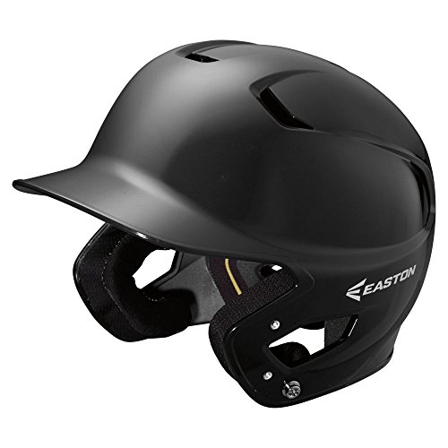 Easton Z5 glänzend Baseball Batting Helm, Easton Z5 Gloss Batting Helmet Bk Sr, schwarz
