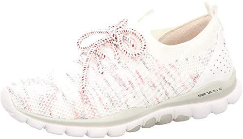 Gabor Rollingsoft Sneaker in Übergrößen Weiß 46.969.13 große Damenschuhe, Größe:42