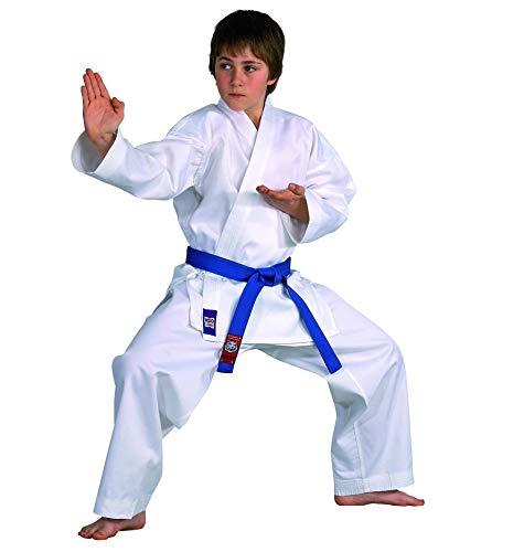 Karateanzug Dojo Line von DANRHO, weiß, 229049, Gr.180