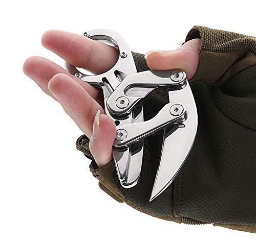 Huafi Klappmesser | Sehr scharfes Outdoormesser | Einhandmesser | Taschenmesser - Das perfekte scharfe Geschenk Männer