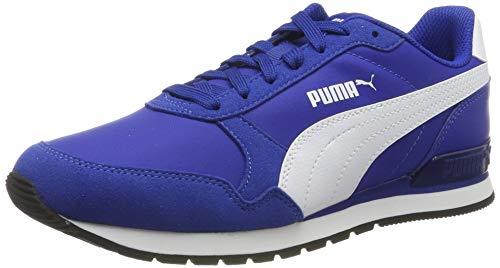 PUMA Unisex-Erwachsene ST Runner v2 NL Sneaker, Blau (Surf The Web White), 46 EU