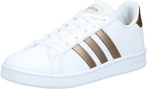 adidas Grand Court Sneaker, Ftwwht Coppmt Glopnk, 31 EU