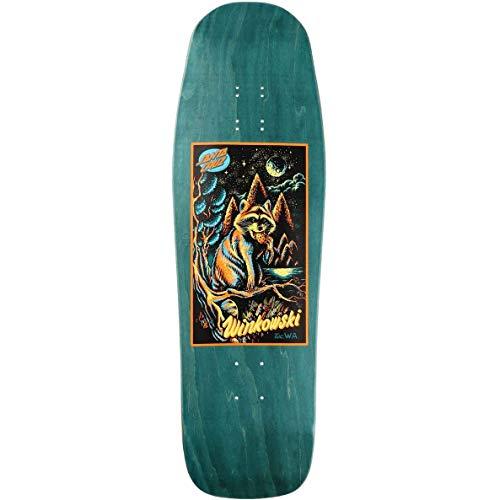 SANTA CRUZ Trash Panda Card Reissue Skateboard-Brett - Winkowski 25,4 cm