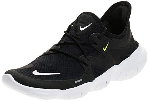 Nike Damen WMNS Free Rn 5.0 Leichtathletikschuhe, Mehrfarbig (Black/White/Anthracite/Volt 000), 40 EU