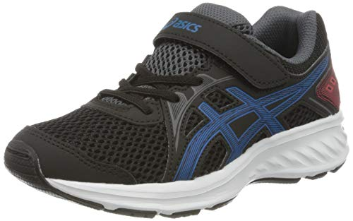 ASICS Unisex-Child 1014A034-006_32,5 Running Shoes, Black, 32.5 EU