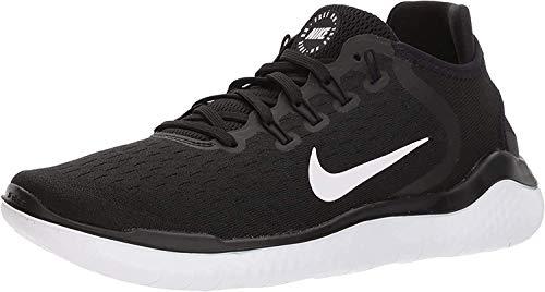 Nike Damen Free Rn Laufschuhe, Schwarz Black White 001, 35.5 EU
