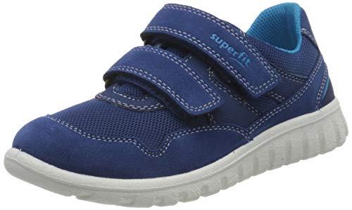 Superfit Baby Jungen SPORT7 Mini Lauflernschuhe, Blau (Blau/Blau 81), 32 EU