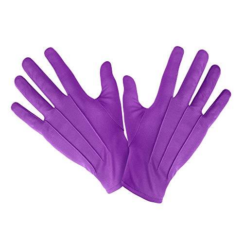 Kurze Handschuhe in lila