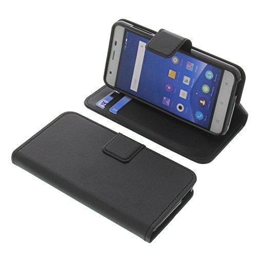 Tasche für Mobistel Cynus F9 Book Style schwarz Schutz Hülle Buch