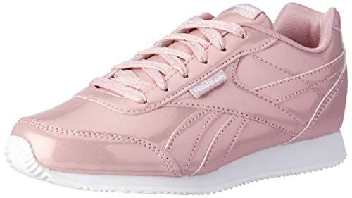 Reebok Mädchen ROYAL CLJOG 2 Traillaufschuhe, Mehrfarbig (New Metallic/Pink/White 000), 35 EU