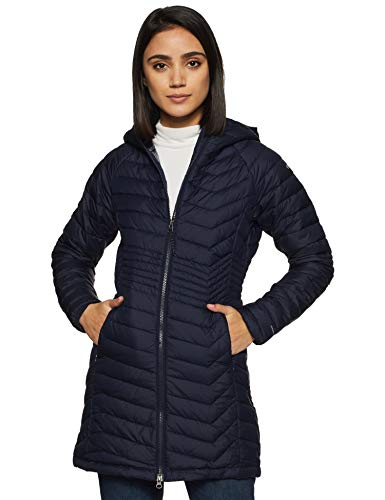 Columbia Powder Lite Mid Jacke für Damen, blau (Dark Nocturnal), M