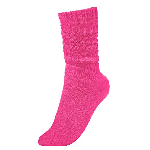 Brubaker Unisex Slouch Socken für Fitness Workout Yoga Gymnastik Wellness Pink Gr. 39/42