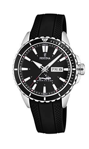 Festina Herren Analog Quarz Uhr mit PU Armband F20378/1
